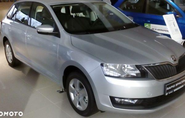 Škoda RAPID NOWY 1.0 Turbo 110 KM Ambition Rabat 14 tyś.